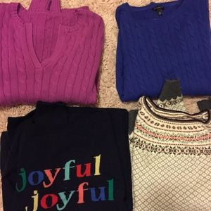 Talbots Sweater Bundle